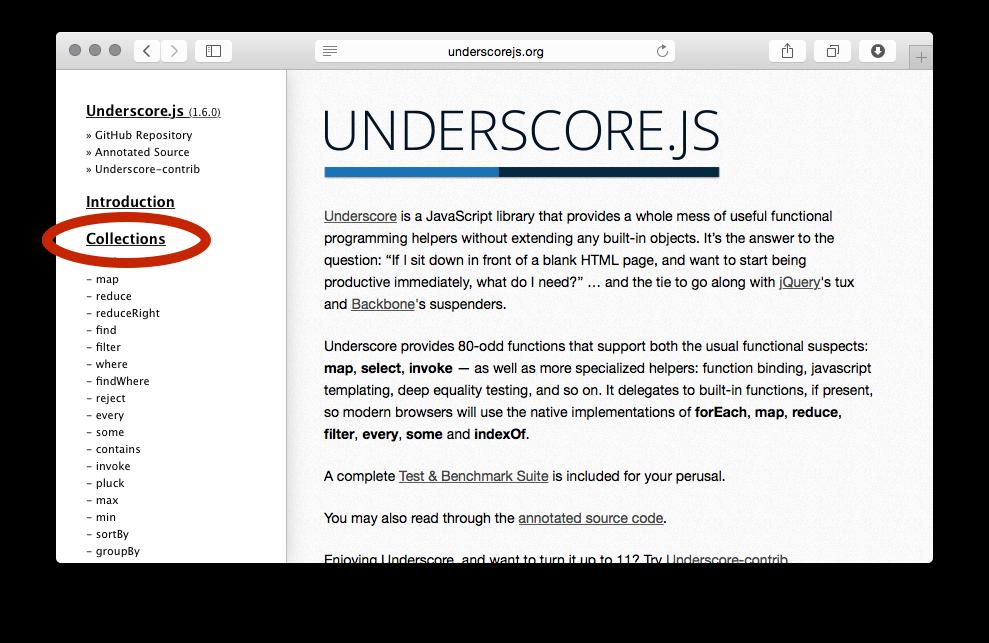 if underscore was written in es6 javascript